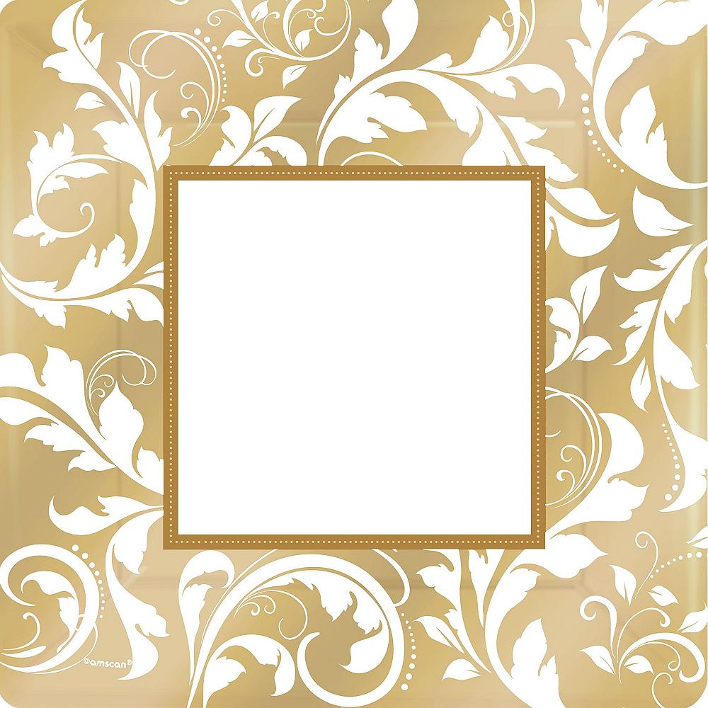 Golden Wedding Bridal Shower Tableware Kit for 36 Guests Image #3