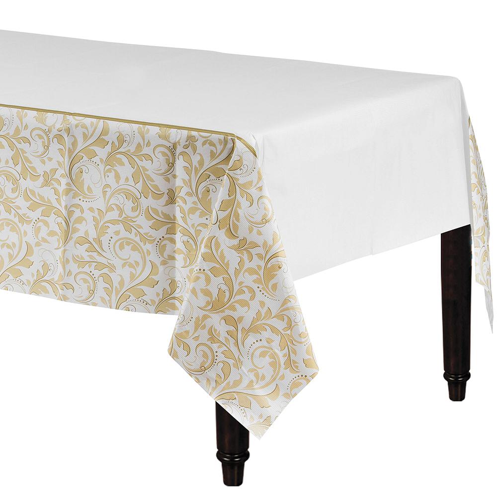Golden Wedding Bridal Shower Tableware Kit for 36 Guests Image #4