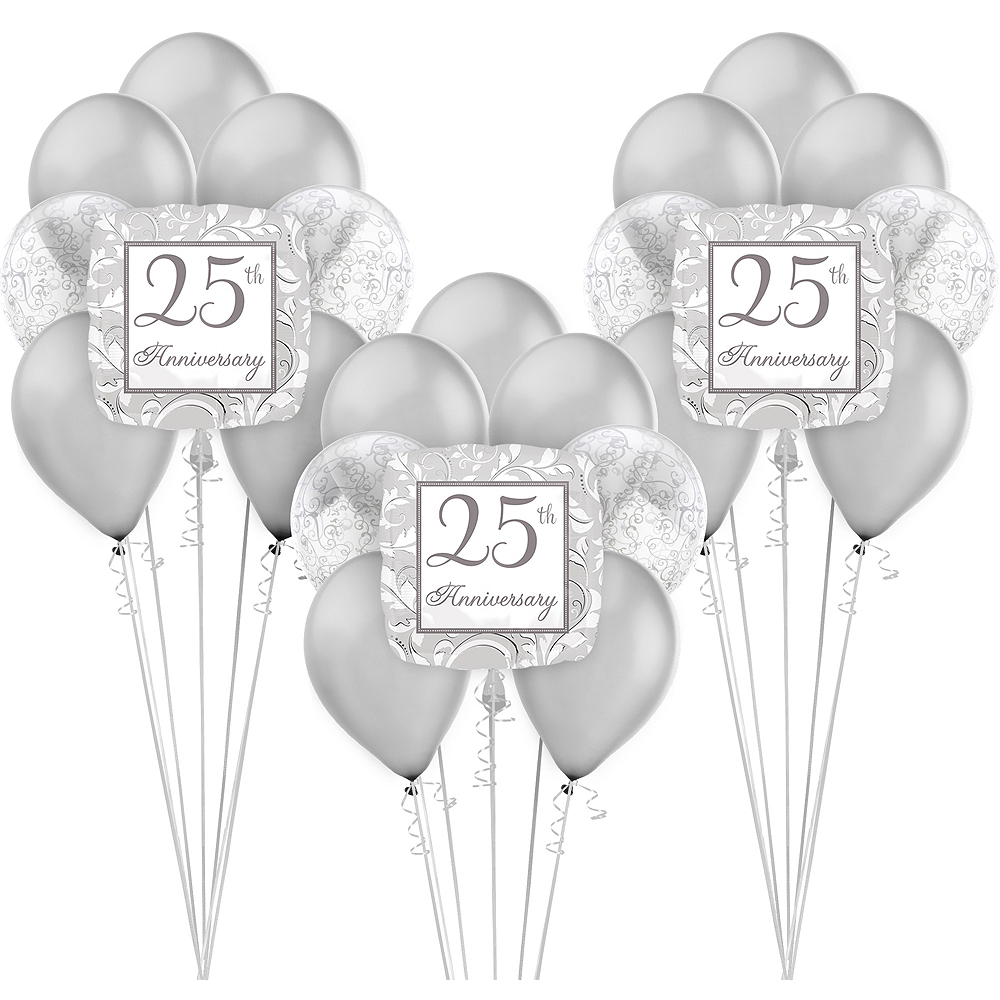 25th Anniversary Balloon Kit Image #1