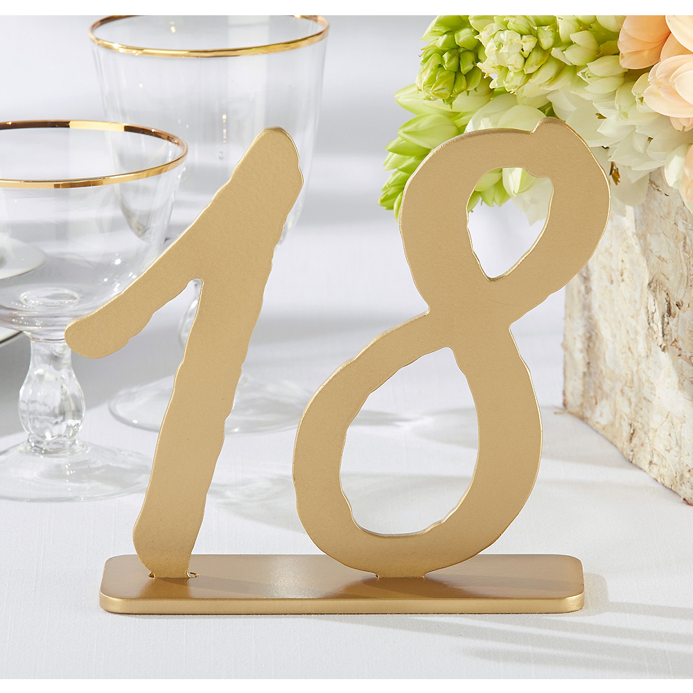 Good As Gold Classic Table Numbers 13-18 Image #1