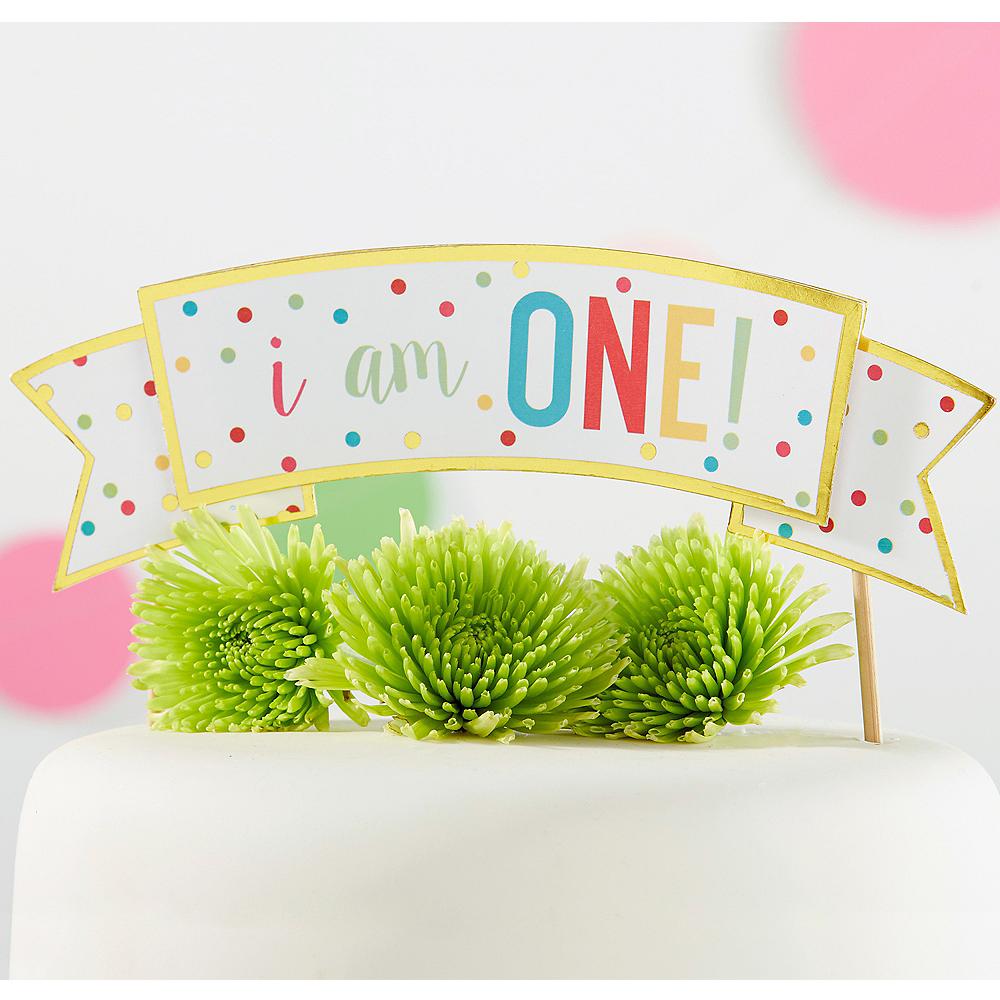 1st Birthday Cake Topper Image #1