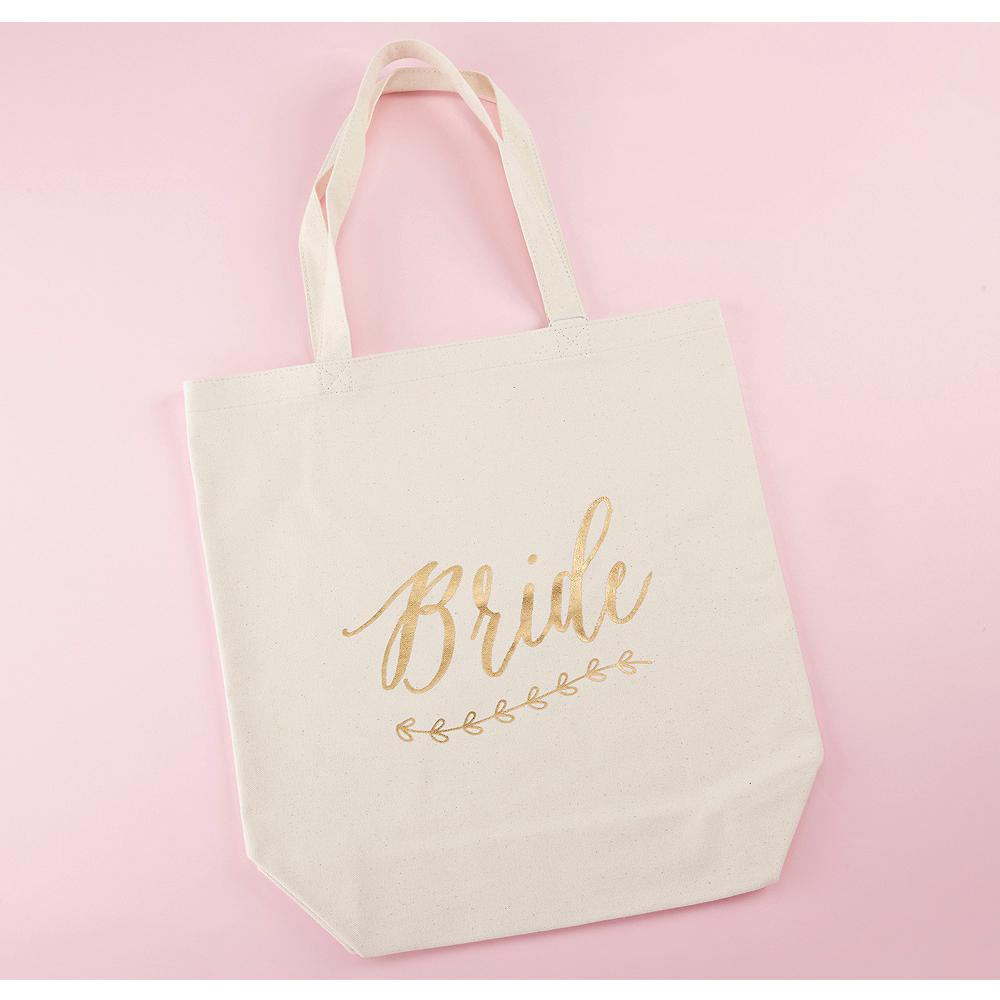 Gold Bride Tote Bag Image #1