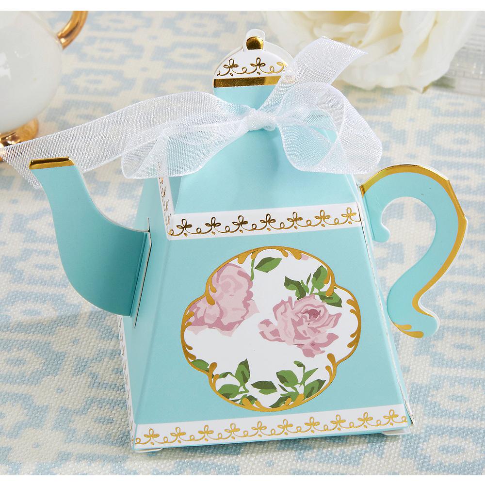 Teapot favor boxes 24ct party city tea time teapot favor boxes 24ct filmwisefo