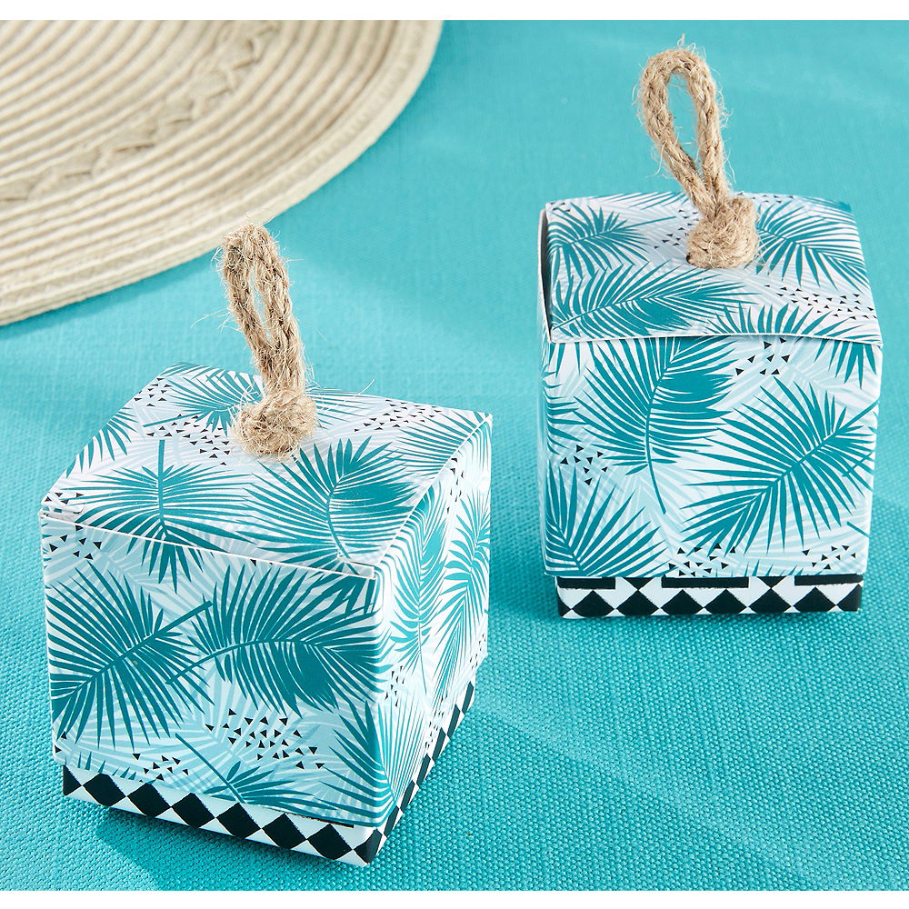 Tropical Chic Favor Boxes 24ct Image #1