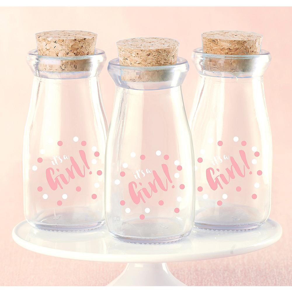 It's A Girl Milk Jar 12ct Image #1