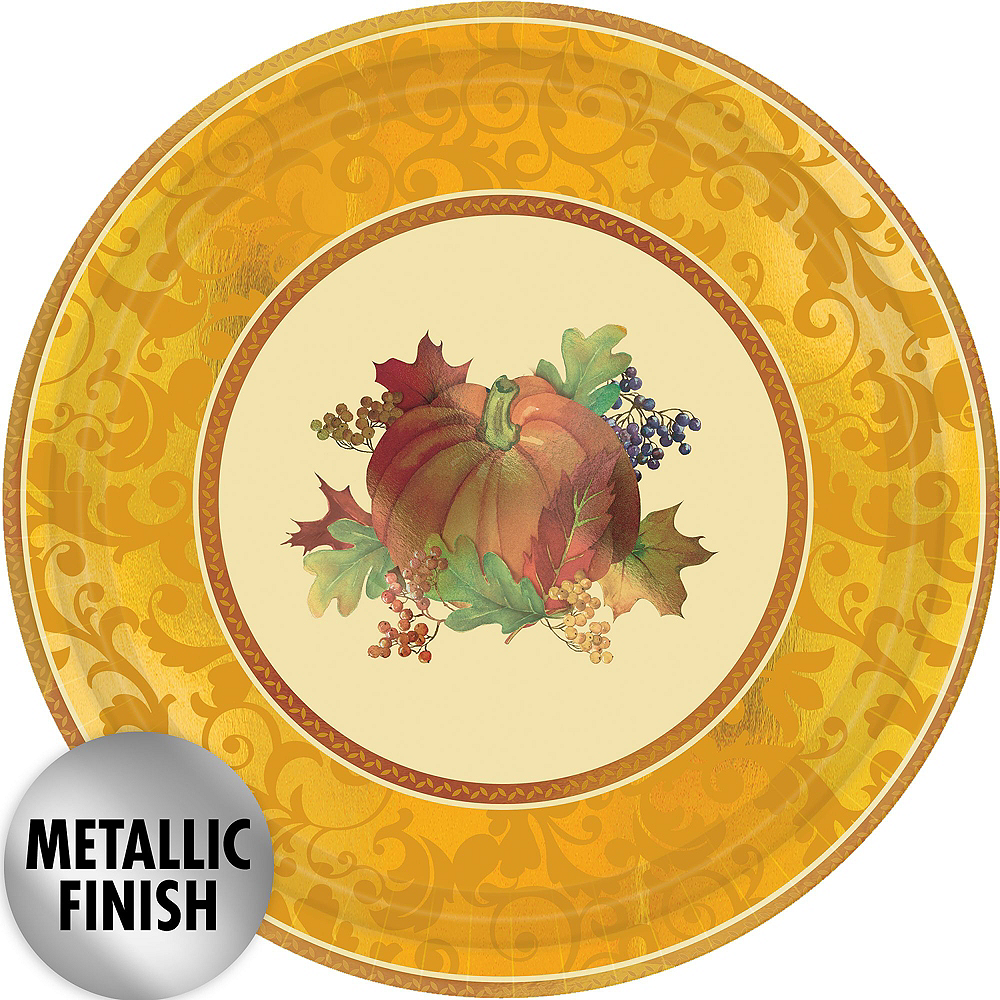 Bountiful Holiday Tableware Kit for 32 Guests Image #3