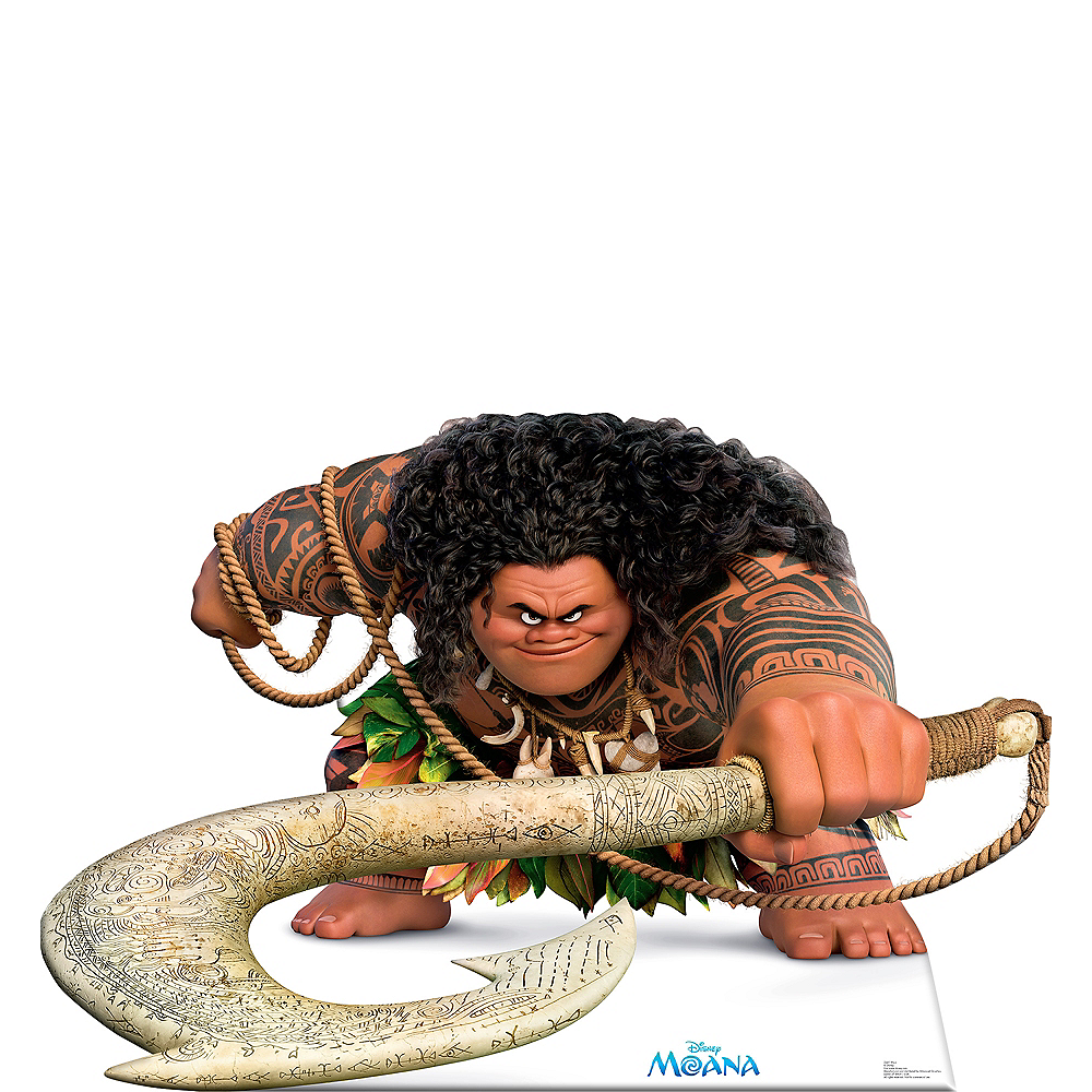 Maui Life-Size Cardboard Cutout - Moana Image #1