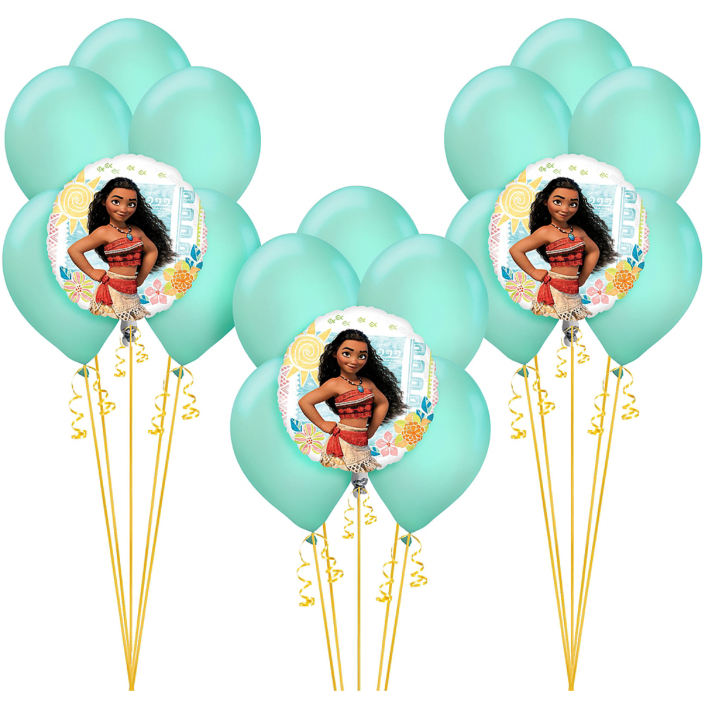 See All Moana Party Supplies Balloon Kit Image 1