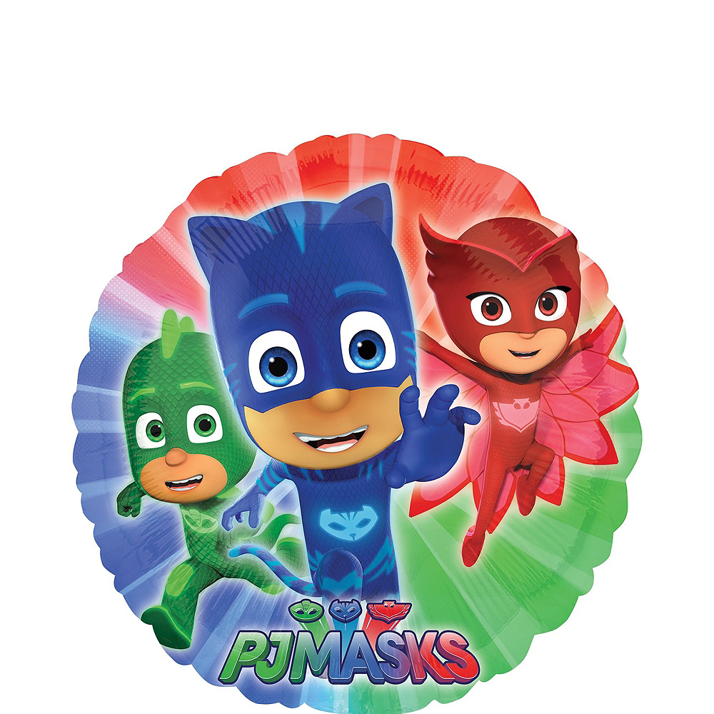 Nav Item for PJ Masks 5th Birthday Balloon Bouquet 5pc Image #4
