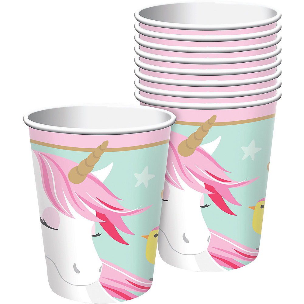 Magical Unicorn Cups 8ct Image #1