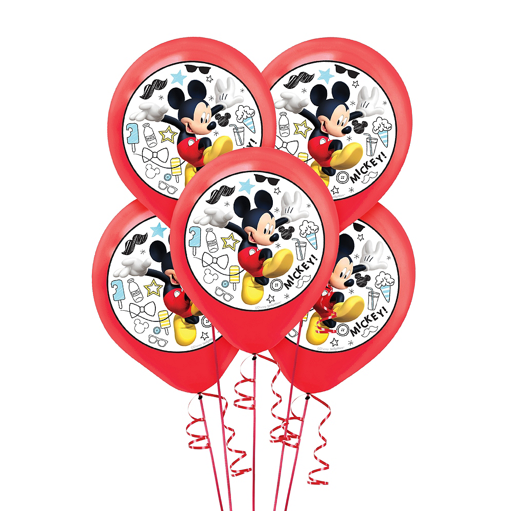 Mickey Mouse Balloons 5ct Image #1