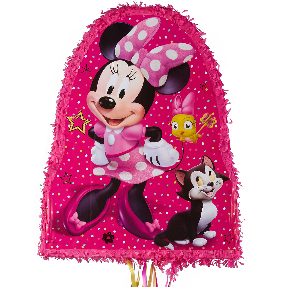 Pull String Bow-Toons Minnie Mouse Pinata Image #1