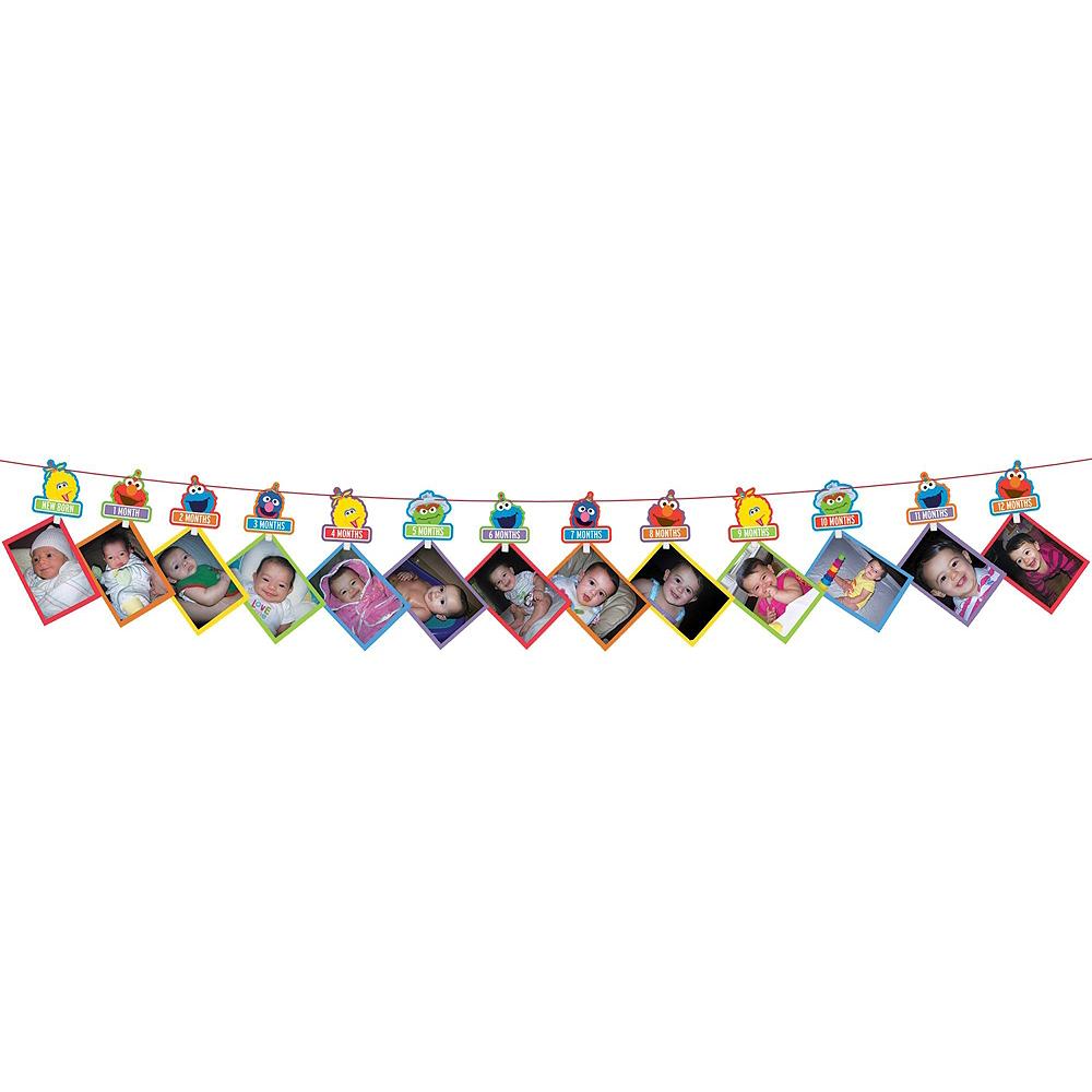 1st Birthday Elmo Decorating Kit Image #4