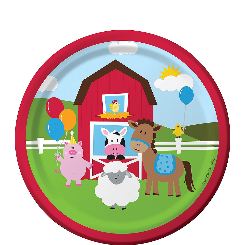 Farmhouse Fun 1st Birthday Party Kit for 16 Guests Image #2