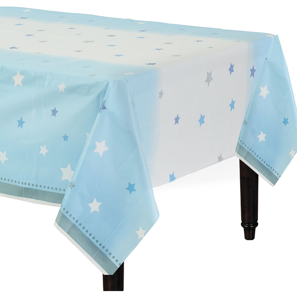 Blue Twinkle Twinkle Little Star 1st Birthday Party Kit for 16 Guests Image #7