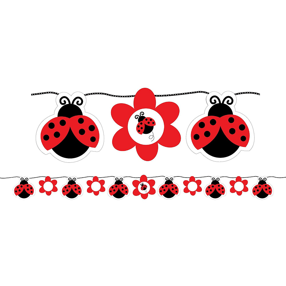 Fancy Ladybug 1st Birthday Party Kit for 32 Guests Image #10