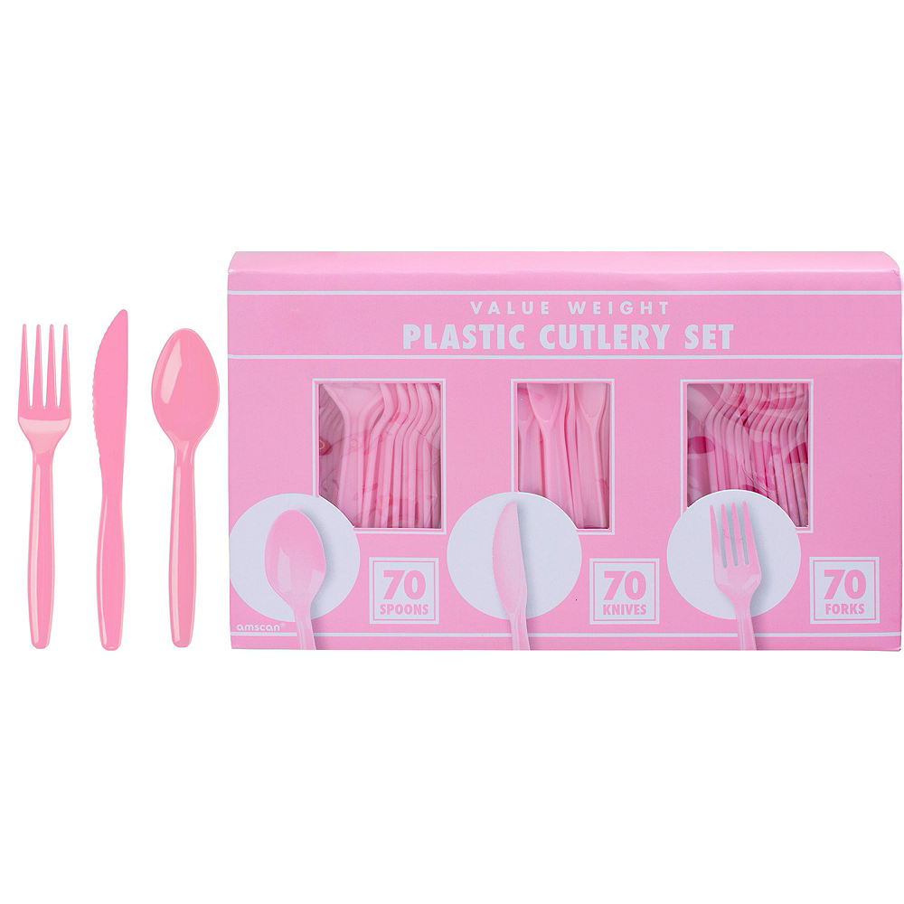 Pink One is Fun 1st Birthday Party Kit for 32 Guests Image #8
