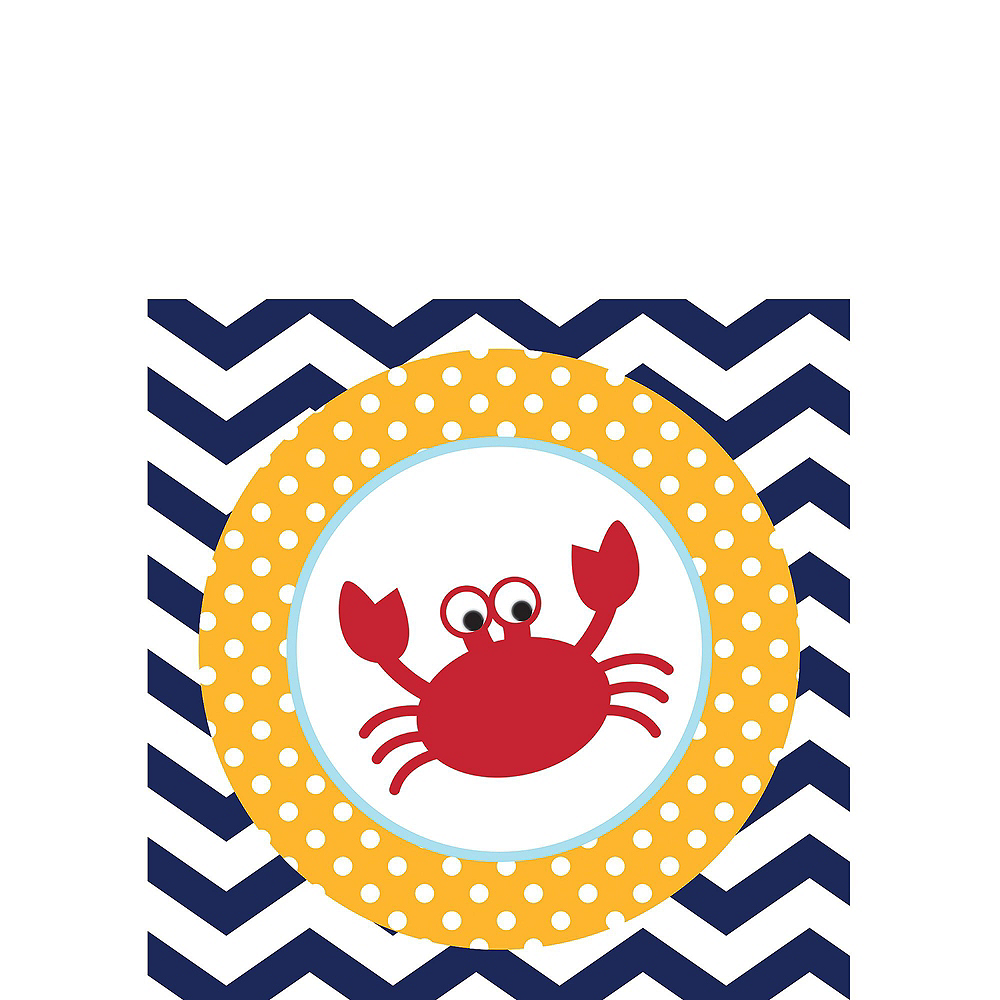 Ahoy Nautical 1st Birthday Party Kit for 32 Guests Image #8