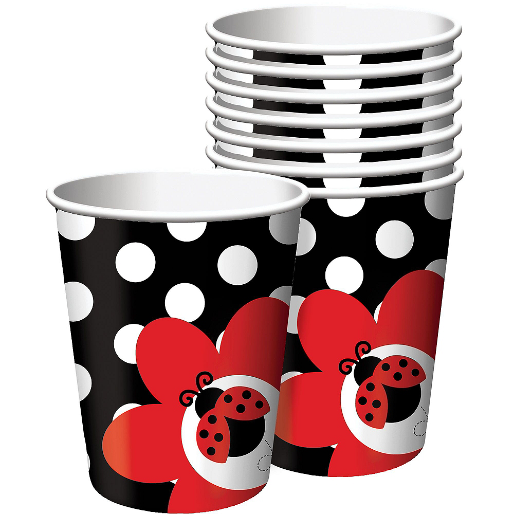 Fancy Ladybug 1st Birthday Deluxe Party Kit for 32 Guests Image #6