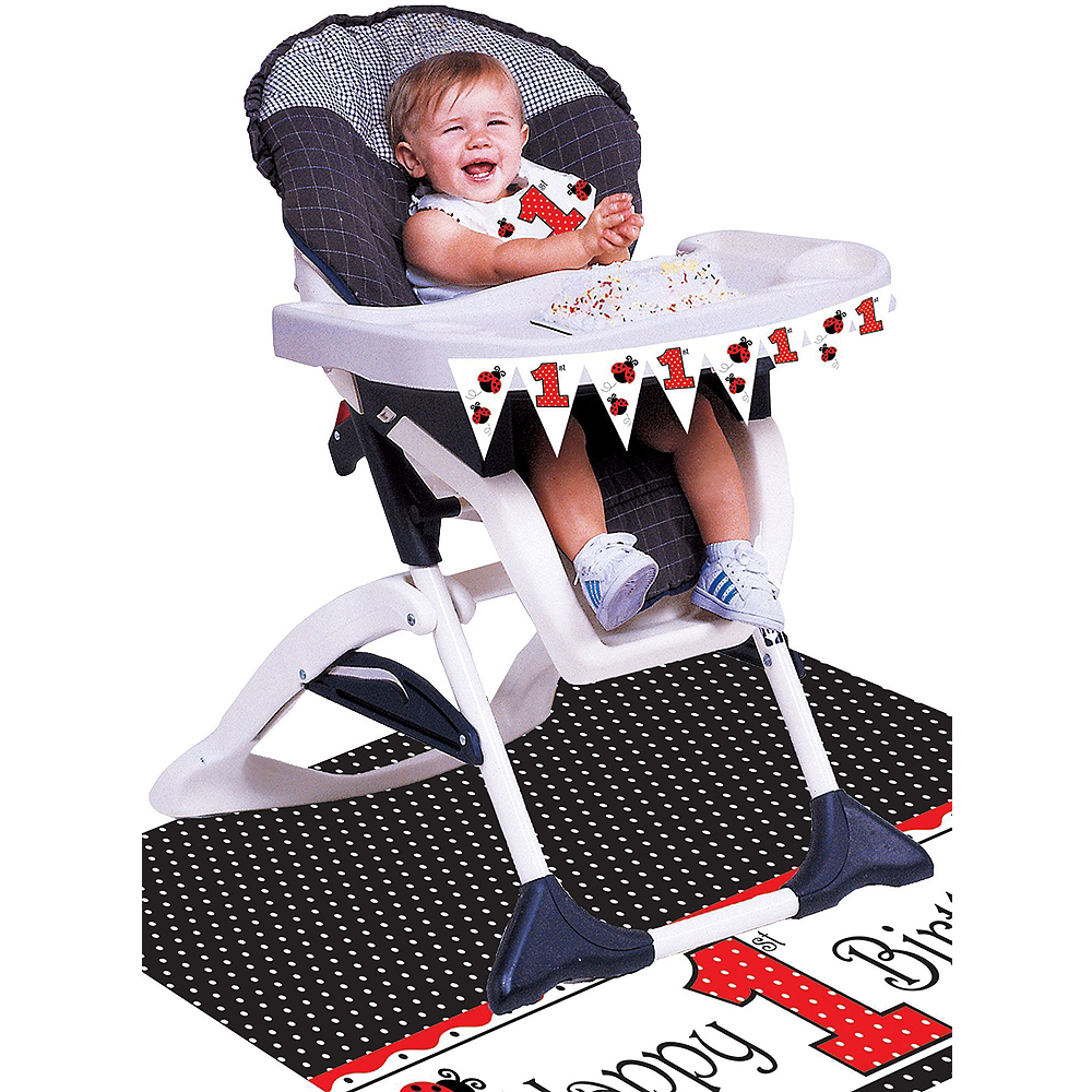 Fancy Ladybug 1st Birthday Deluxe Party Kit for 32 Guests Image #15