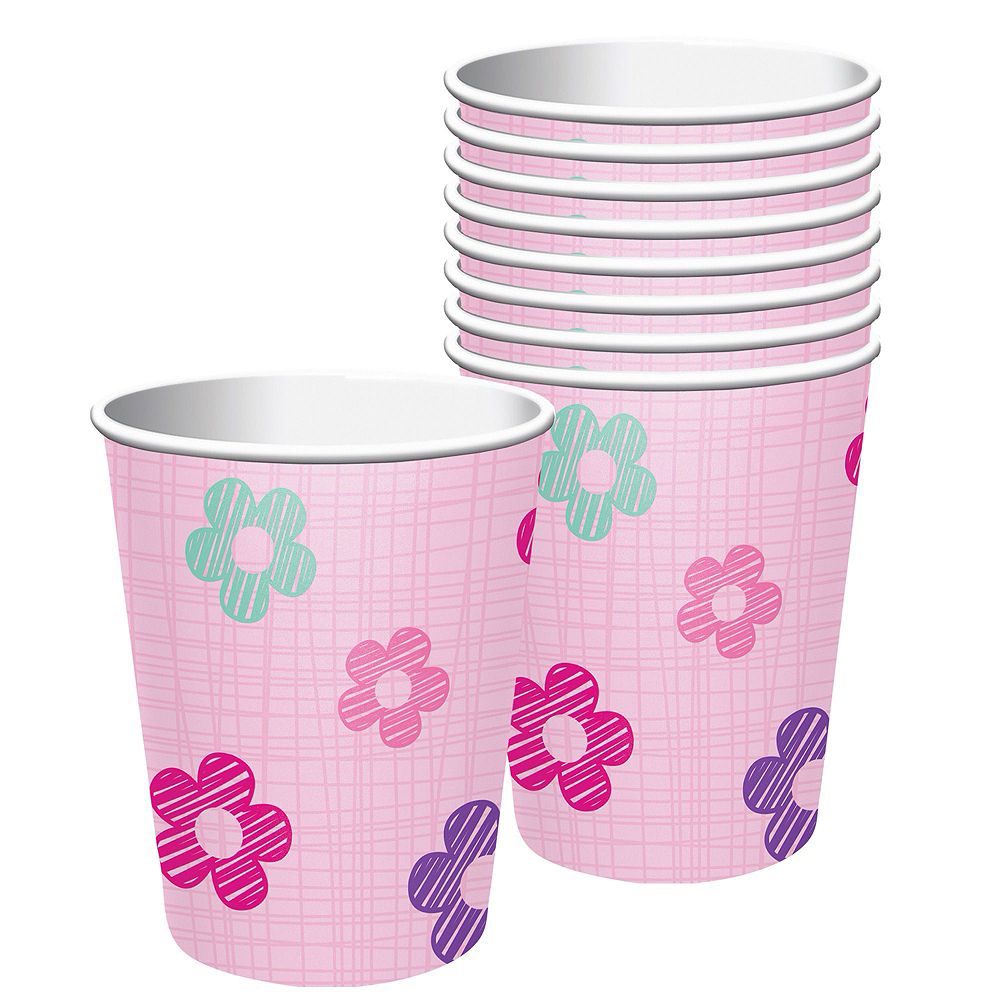 Pink One is Fun 1st Birthday Deluxe Party Kit for 32 Guests Image #6