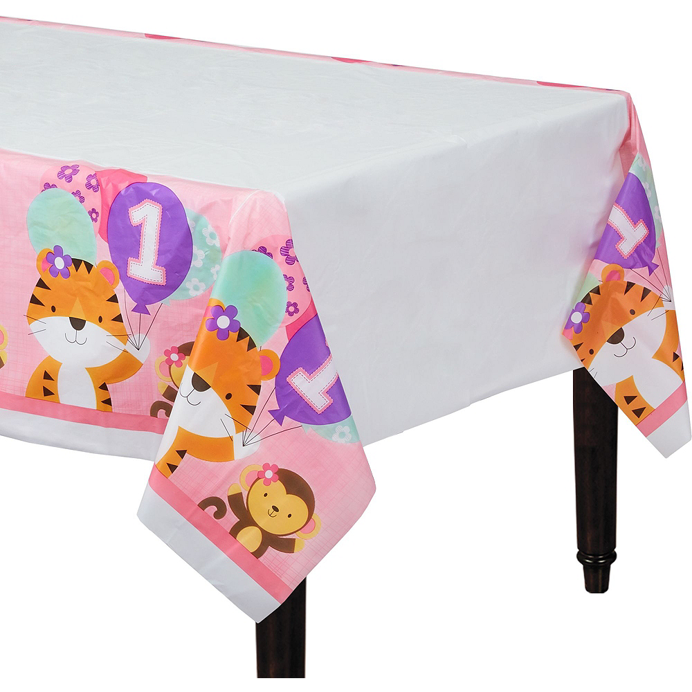Pink One is Fun 1st Birthday Deluxe Party Kit for 32 Guests Image #7
