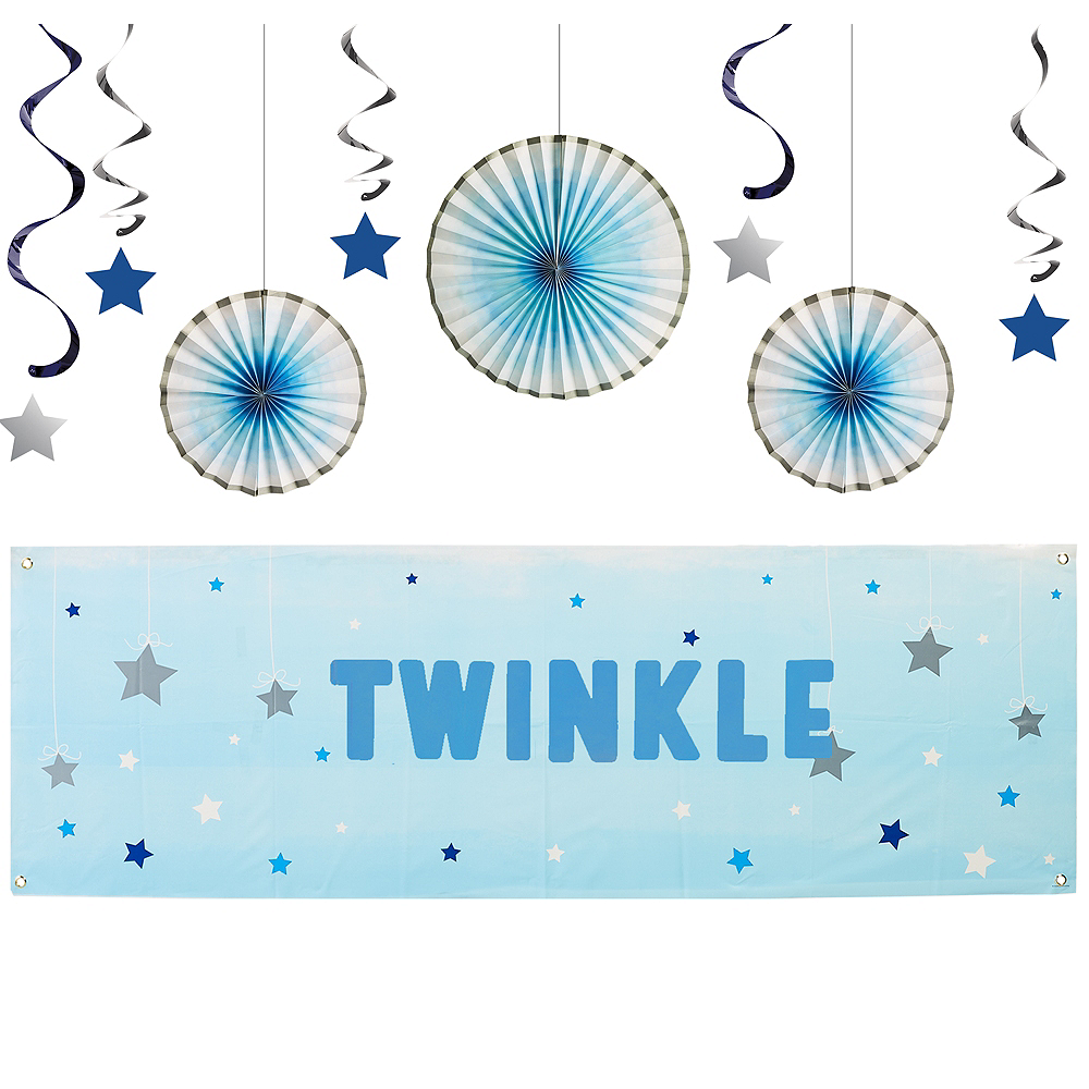 Blue Twinkle Twinkle Little Star Decorating Kit