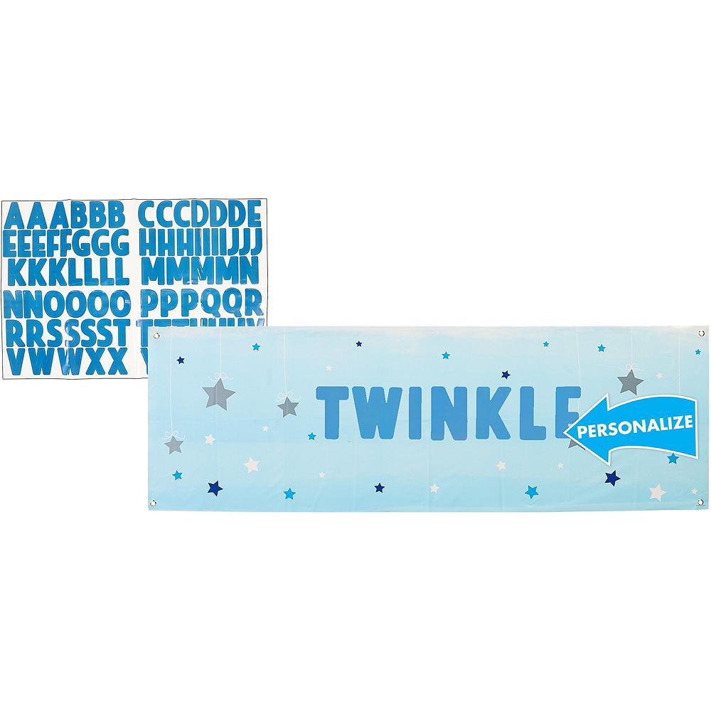 Blue Twinkle Twinkle Little Star Decorating Kit Image #4