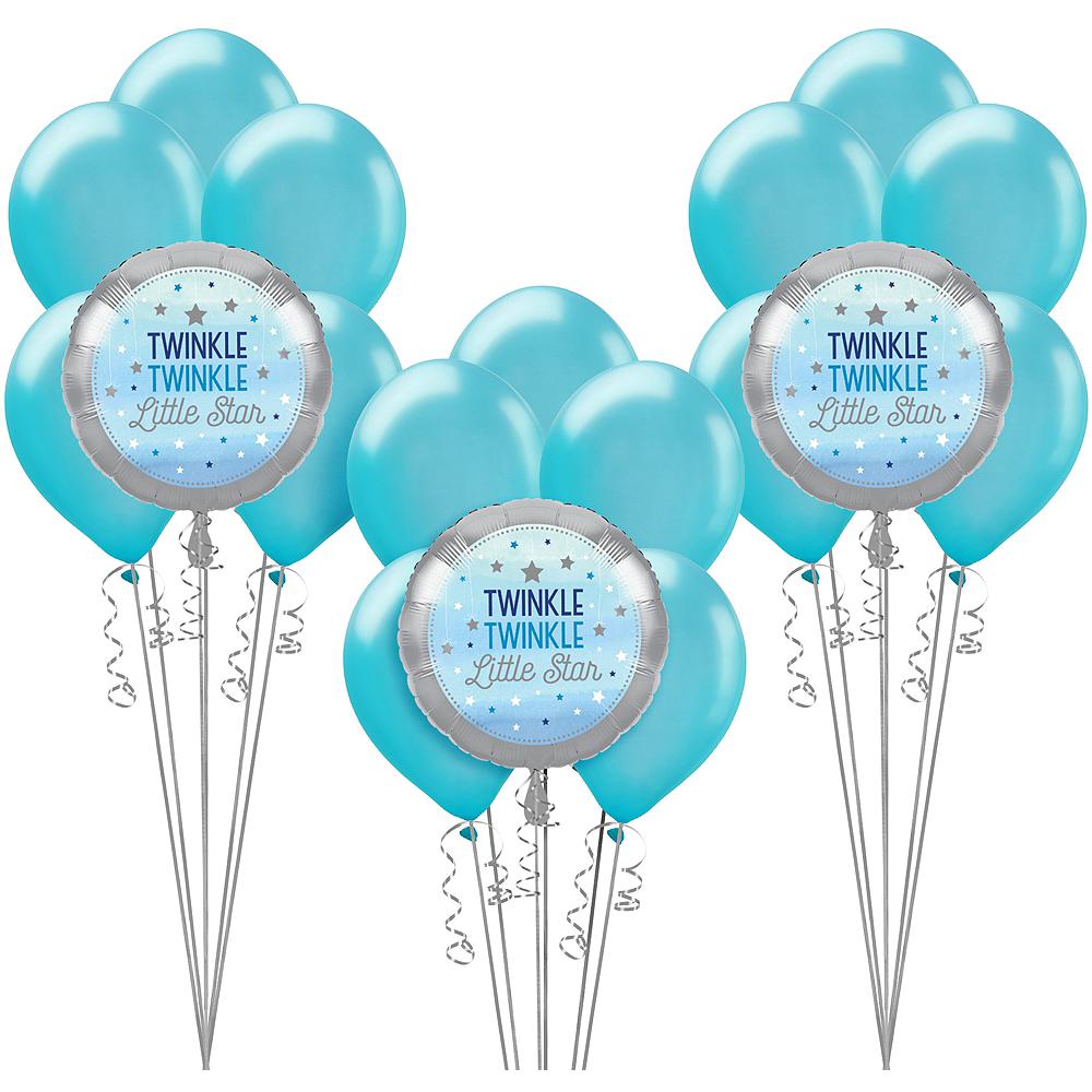 Blue Twinkle Twinkle Little Star Balloon Kit Image #1