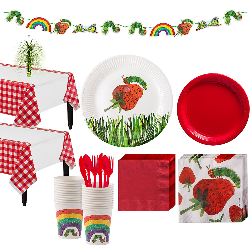 Hungry Caterpillar Party Kit for 12 Guests Image #1