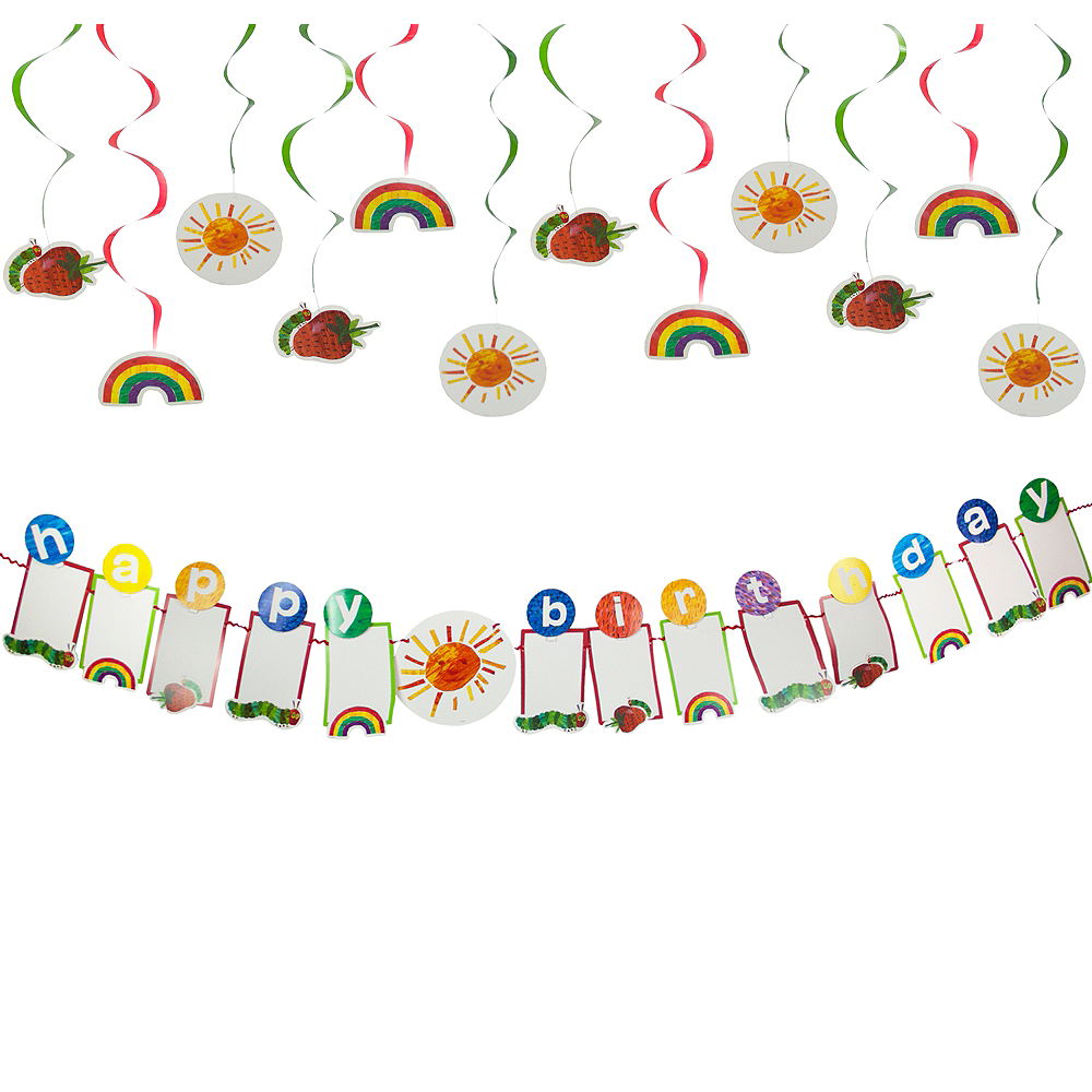 The Very Hungry Caterpillar Decorating Kit Image #1