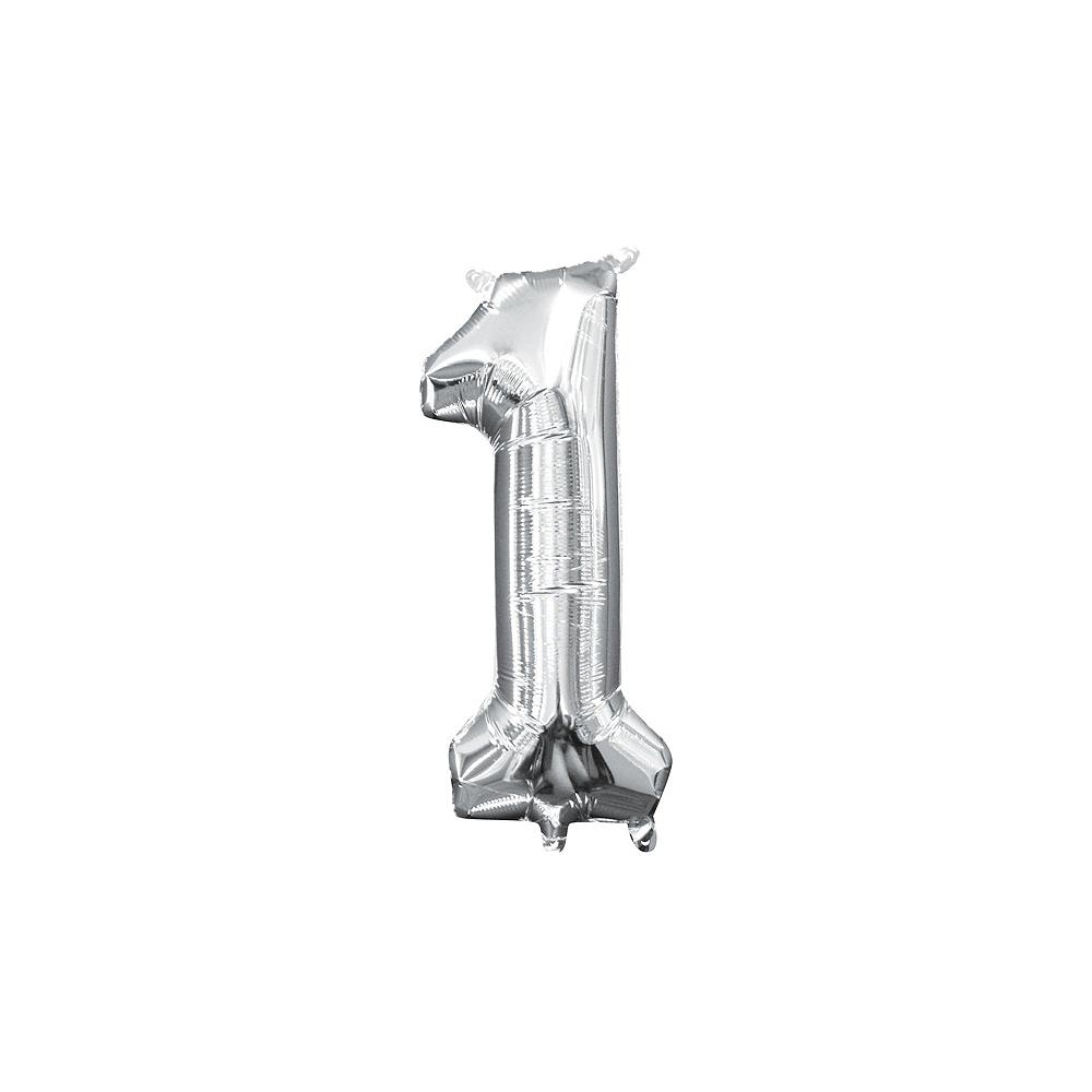 Nav Item For Polka Dot Boy 1st Birthday Yard Sign Kit With Balloons Image 2