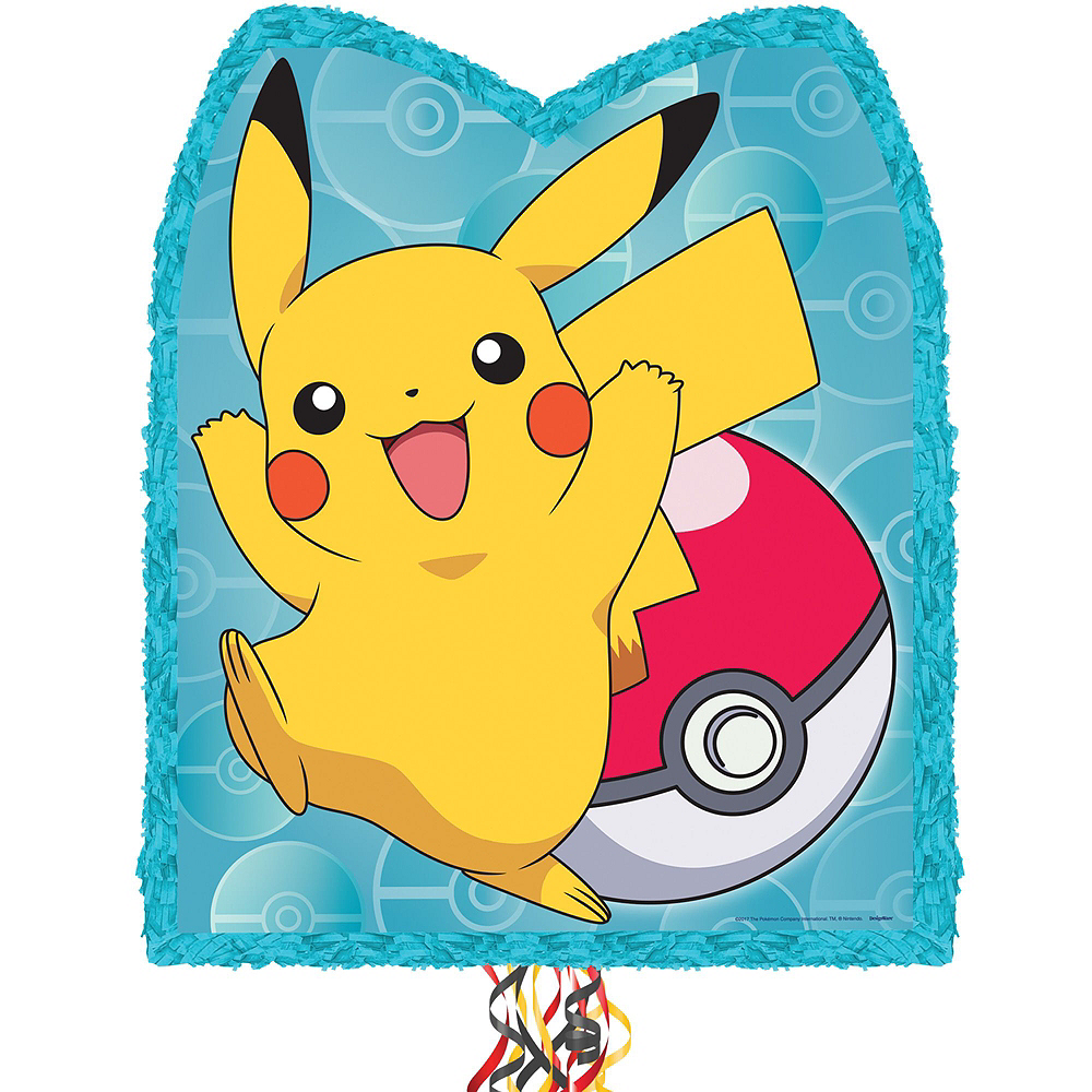 Nav Item for Pikachu Pinata Kit with Favors Image #5