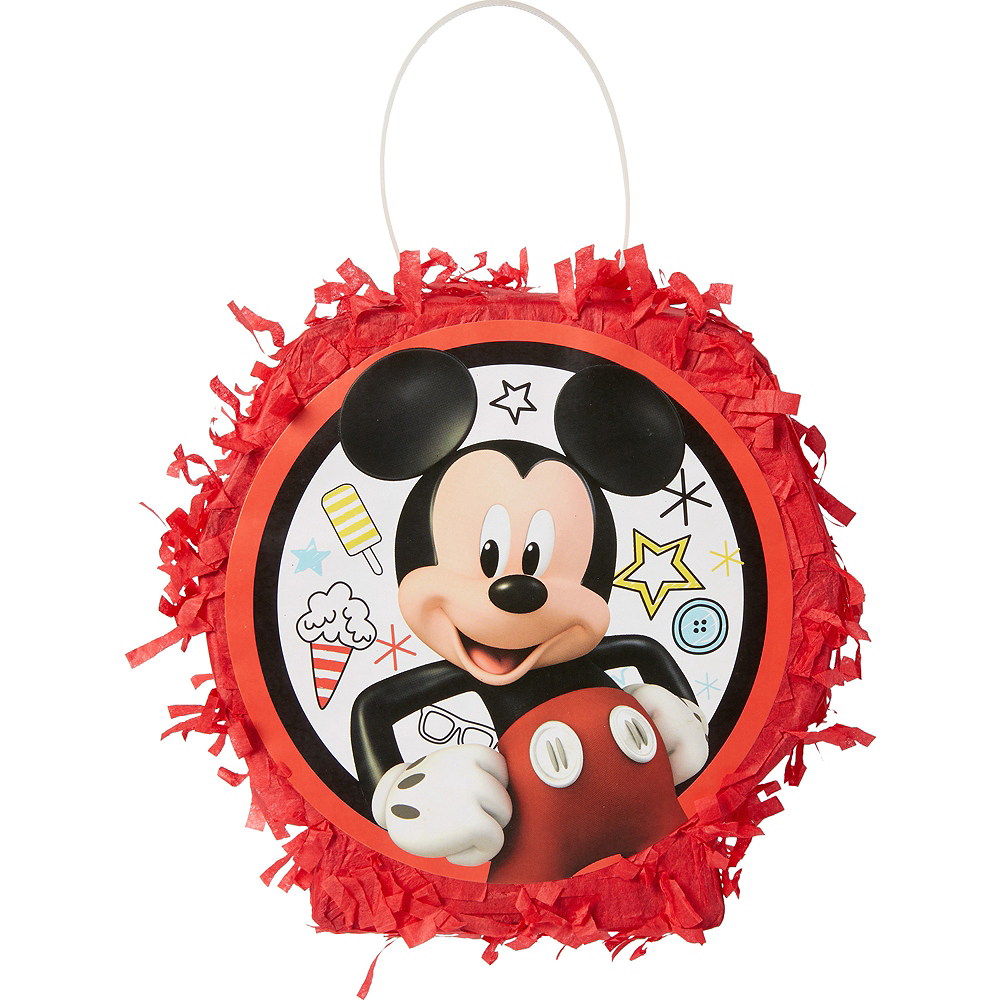Mickey Mouse Pinata Favor Container Image #1