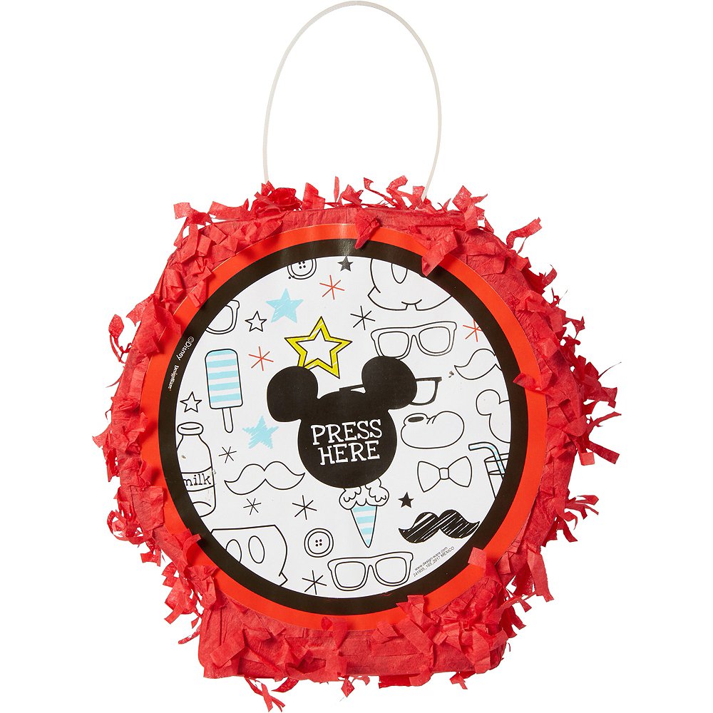 Mickey Mouse Pinata Favor Container Image #2