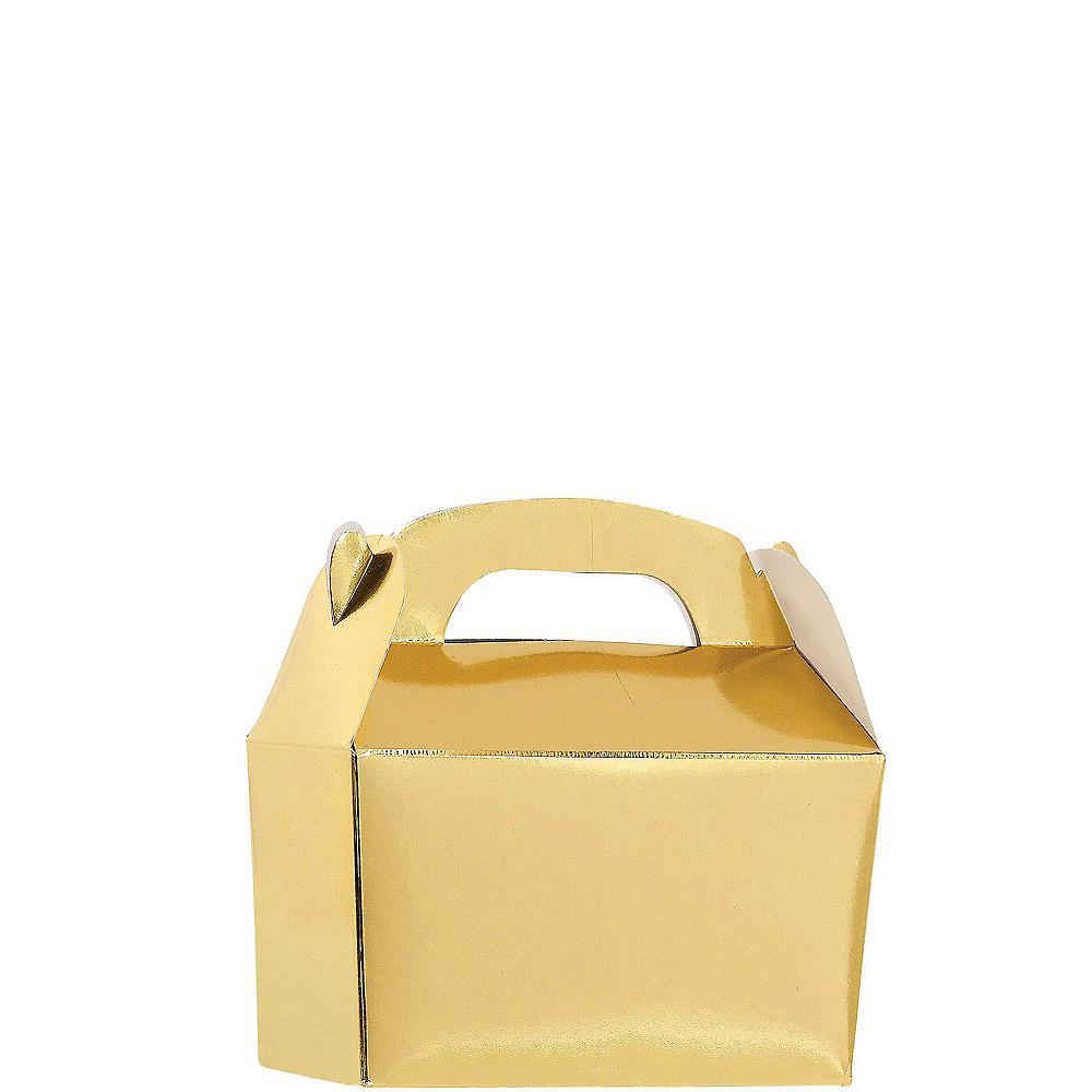 Metallic Gold Gable Boxes 24ct Image #1