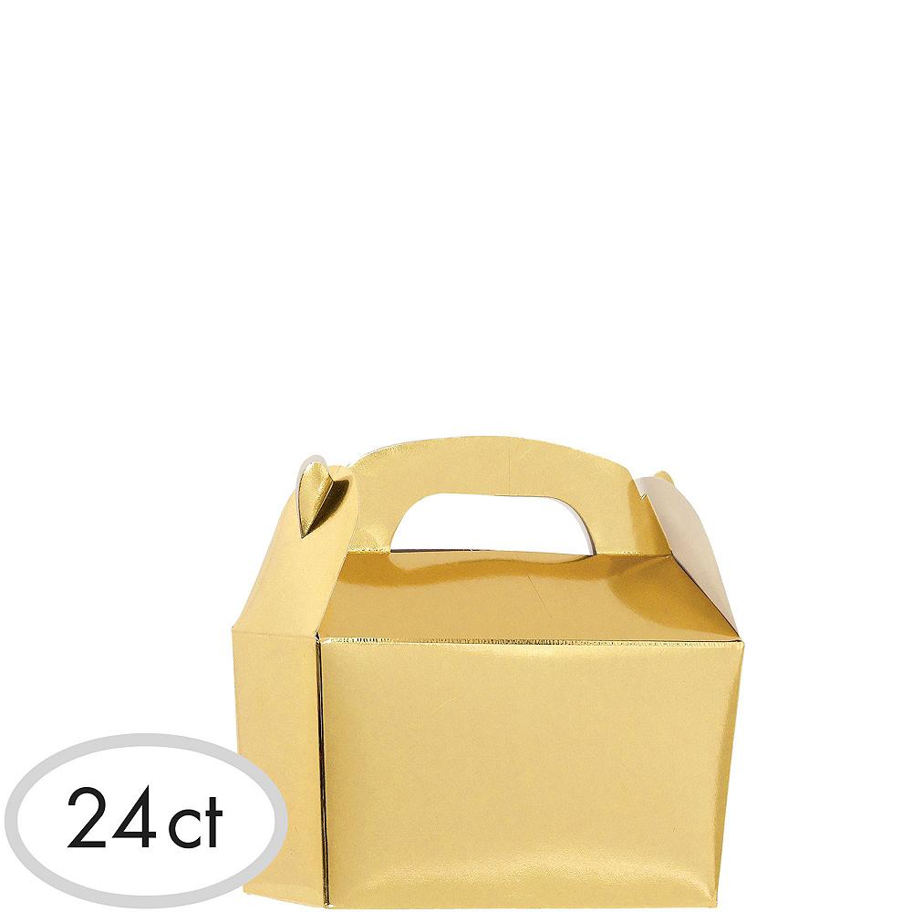 Metallic Gold Gable Boxes 24ct Image #2