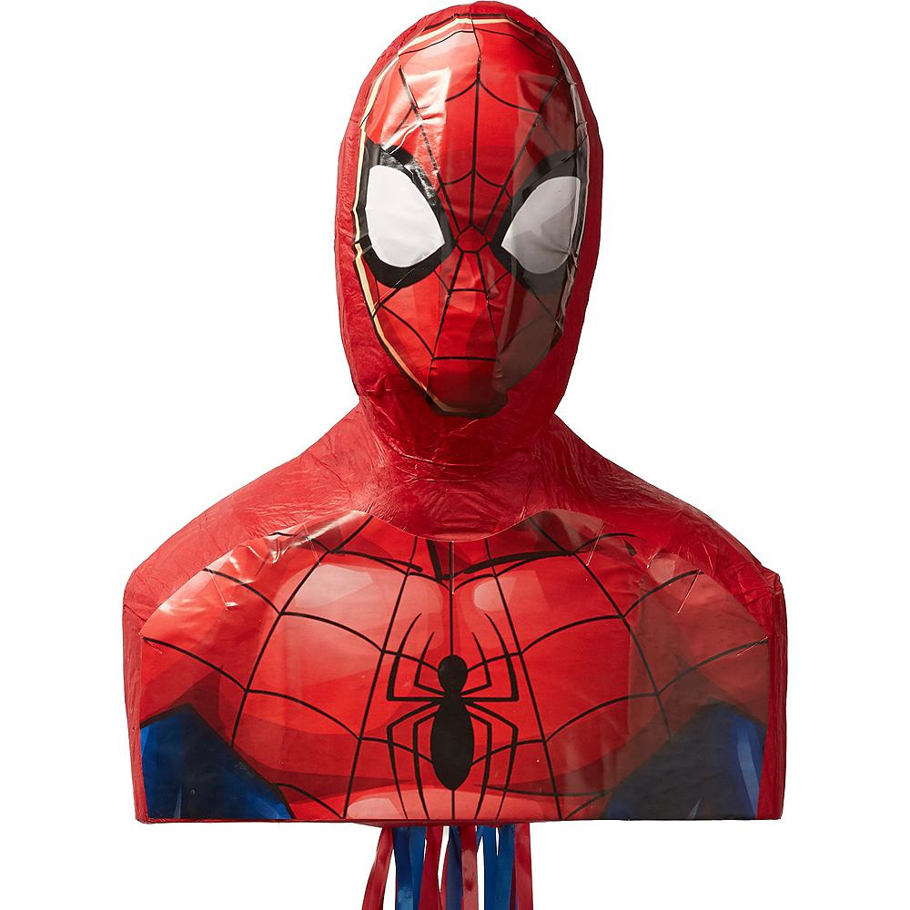 Pull String Webbed Wonder Spider-Man Pinata Image #1