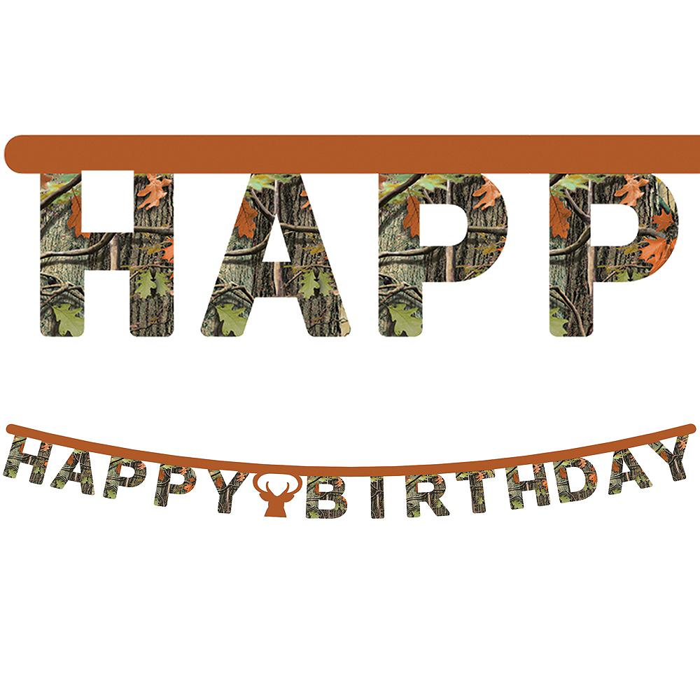 Hunting Camo Birthday Banner Image #1