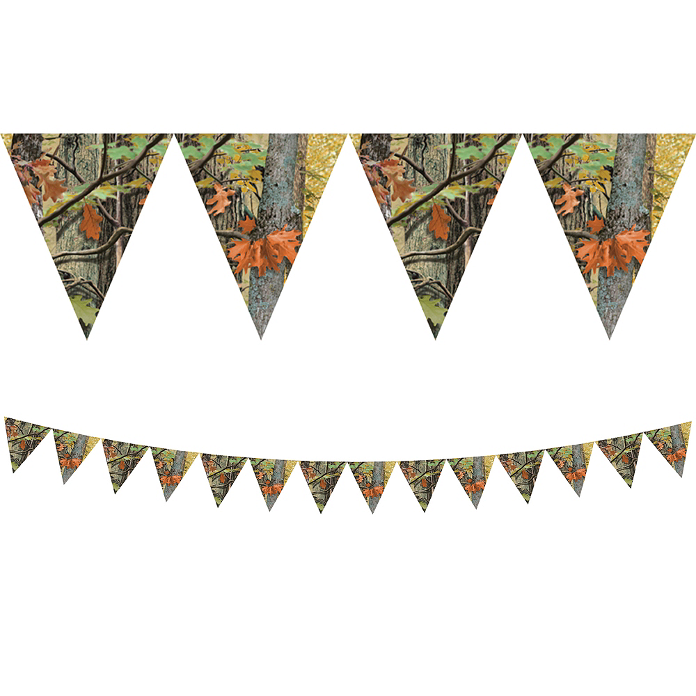 Nav Item for Hunting Camo Pennant Banner Image #1