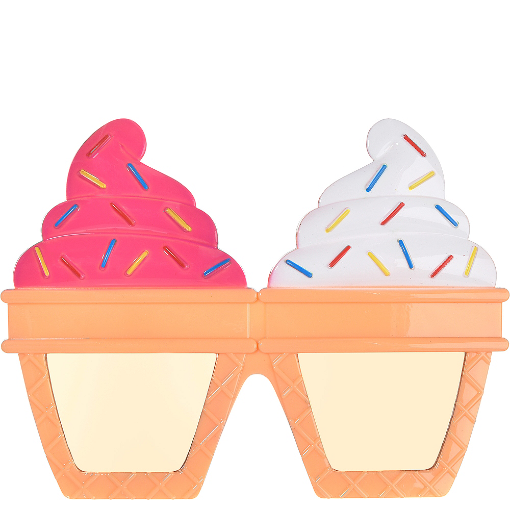 Ice Cream Cone Sunglasses Image #1