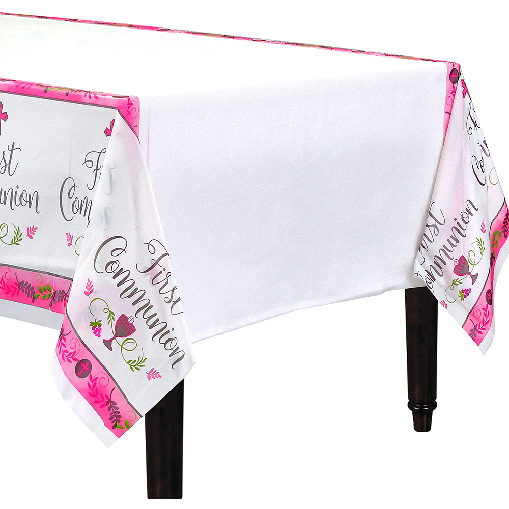 Girl's First Communion Table Cover Image #1