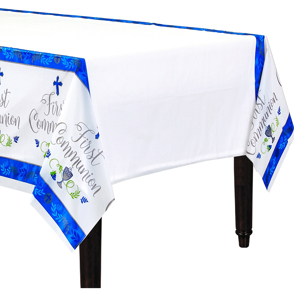 Boy's First Communion Table Cover Image #1