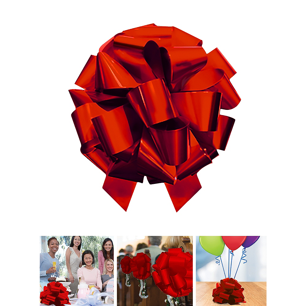 Large Red Gift Bow Image #1
