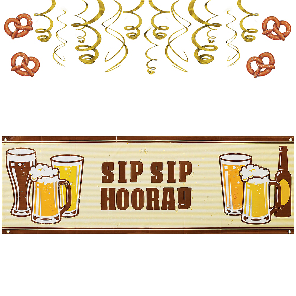 Nav Item for Cheers & Beers Decorating Kit Image #1