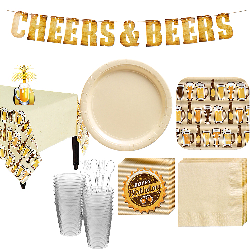 Beer Tasting Party Kit for 16 Guests Image #1