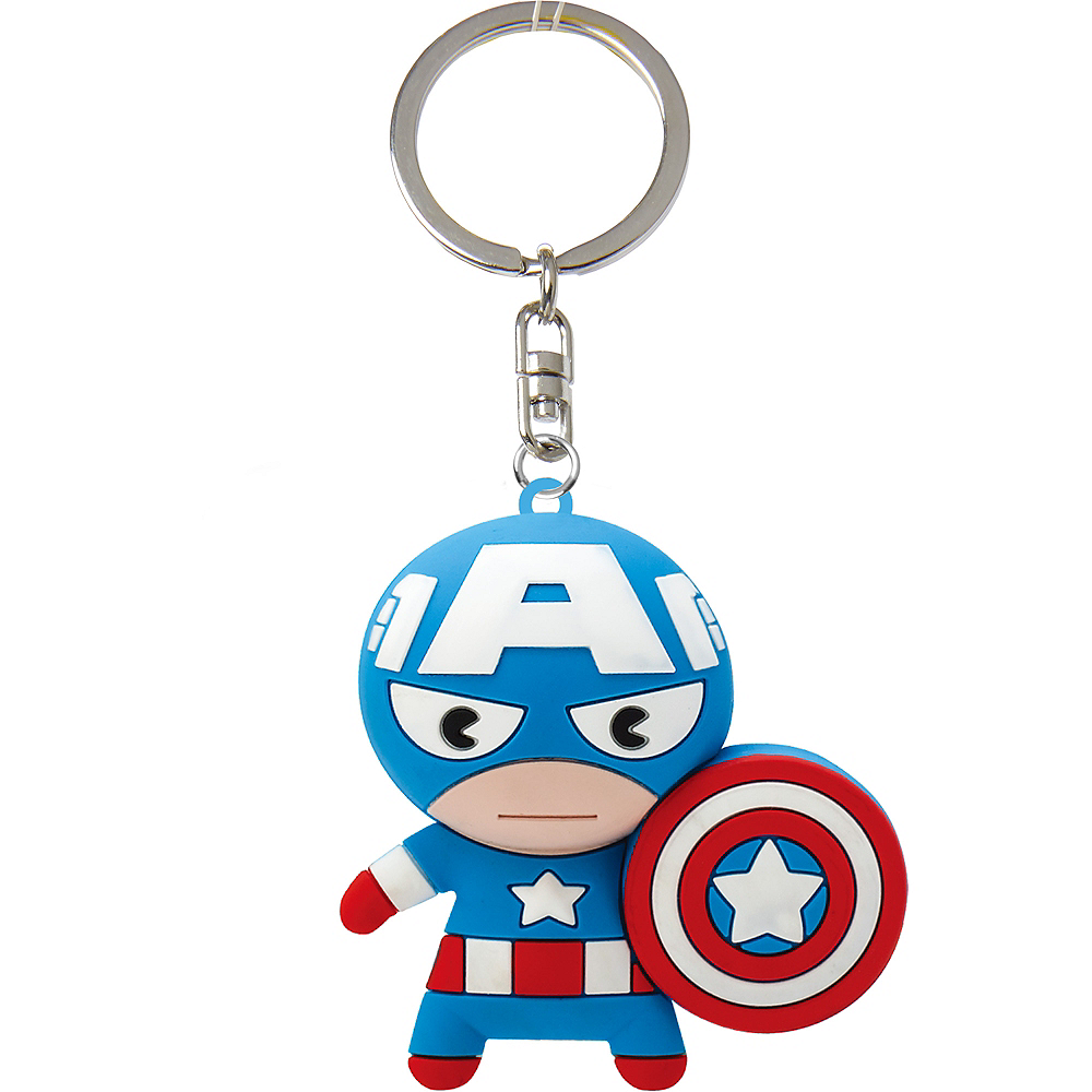 Captain America Keychain Image #1