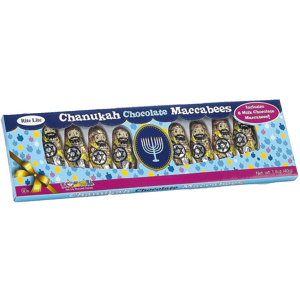 Hanukkah Milk Chocolate Maccabees 8ct Image #1