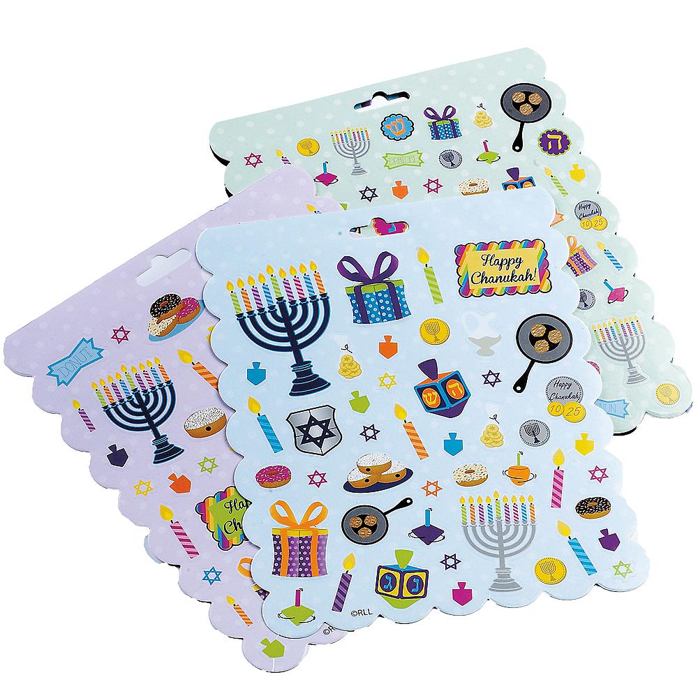 Hanukkah Stickers 4 Sheets Image #1