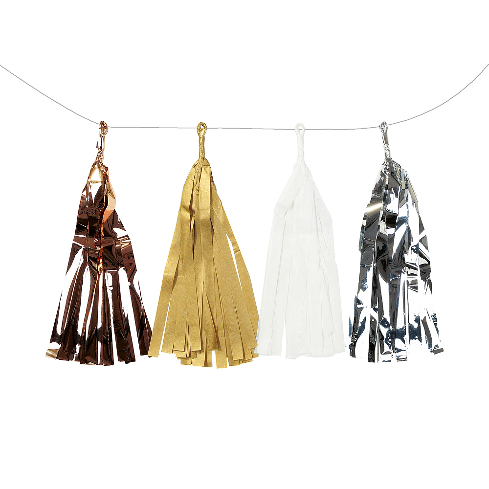 Nav Item for Metallic Tassel Garland Image #1